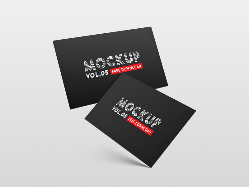 Business card PSD Mockup cover image