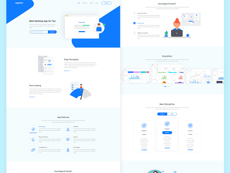App Landing Page cover image