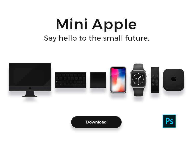 Mini Apple icons cover image