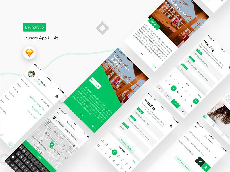 Laundry UI Kit cover image