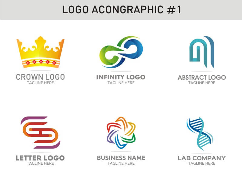 6 Modern Logo Template 1 cover image