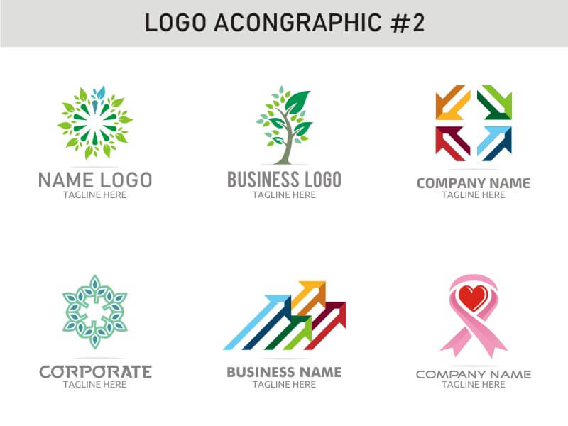 6 Modern Logo Template 2 cover image