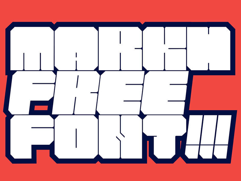 MARKH FREE FONT cover image