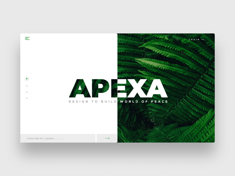 APEXA - Inspirations Landing page Design Template cover image