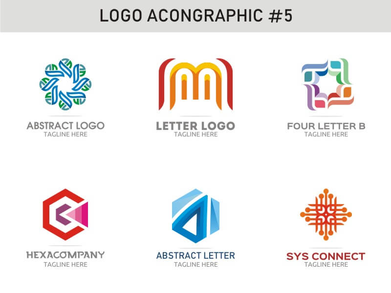 6 Modern Logo Template 5 cover image