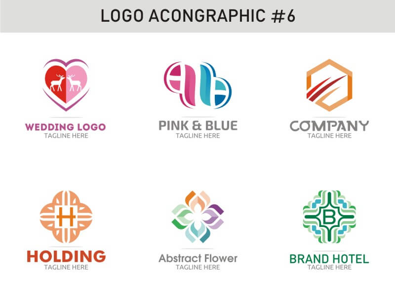 6 Modern Logo Template 6 cover image