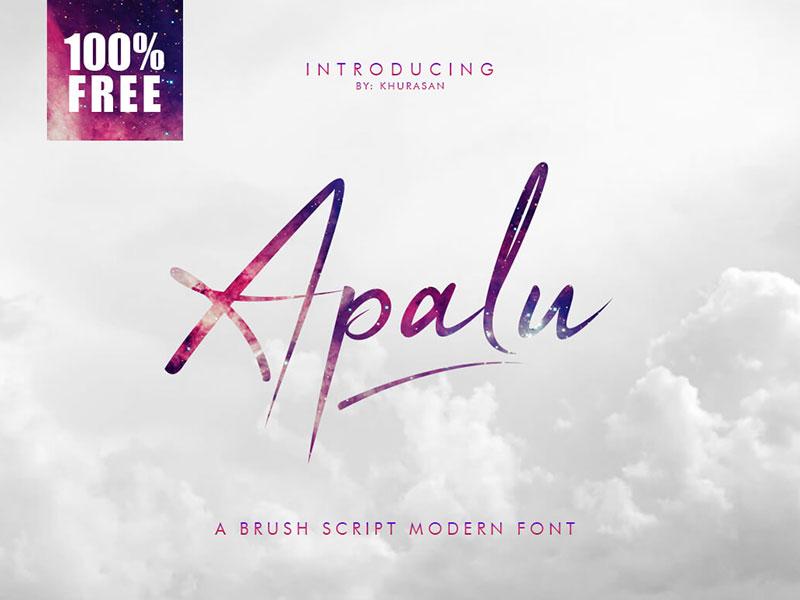Apalu Brush Script cover image