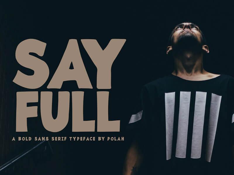 Sayfull Font cover image