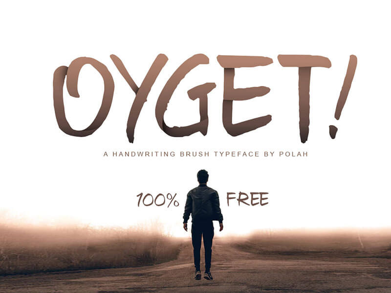 Free - Oyget! Font cover image