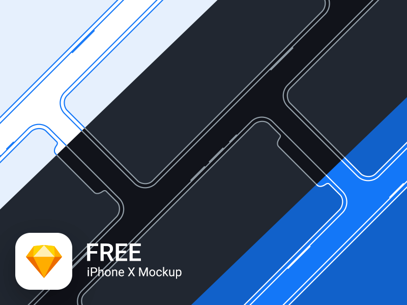 iPhone X Mockup Freebie cover image