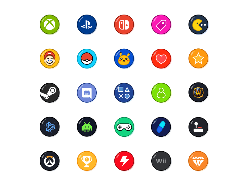 Free Game Icons cover image