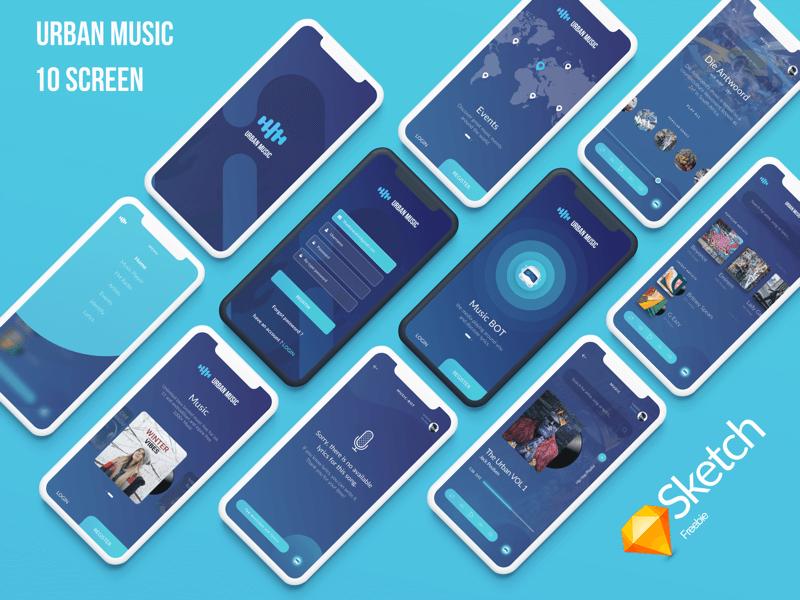 Urban Music UI cover image