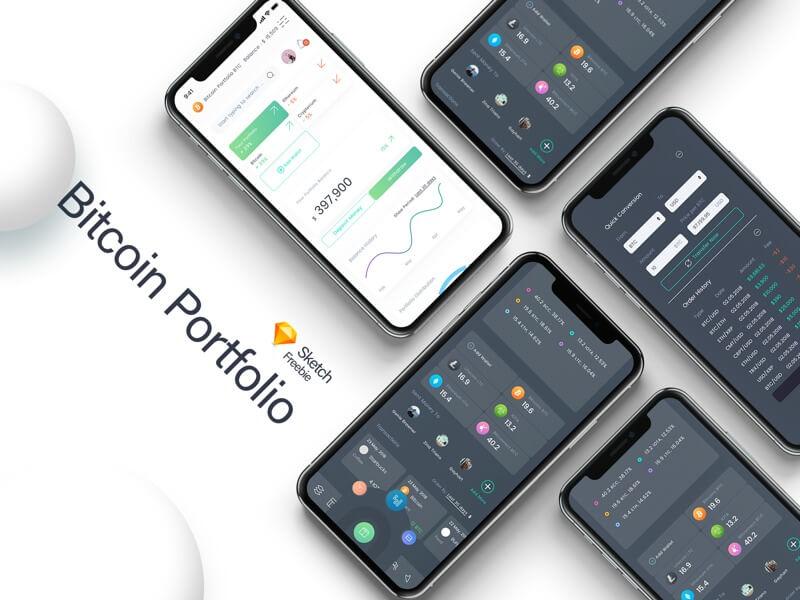 Bitcoin Portfolio cover image