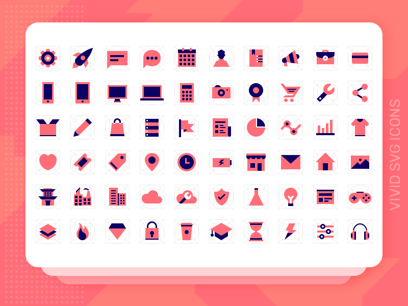Vivid SVG Icons cover image