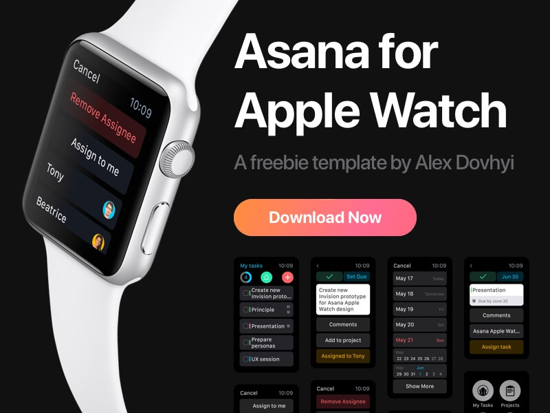 Asana For Apple Watch cover image