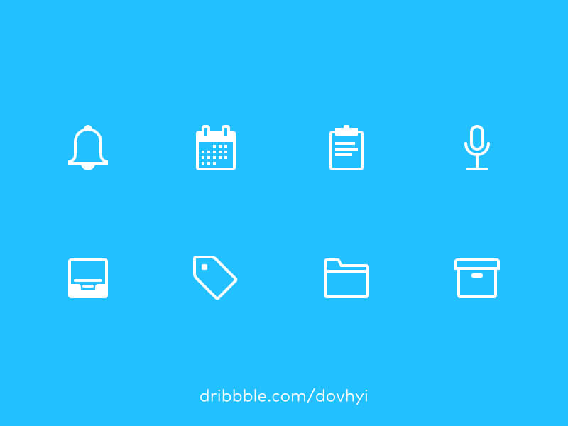 Outline Icons - Get Yours Now cover image