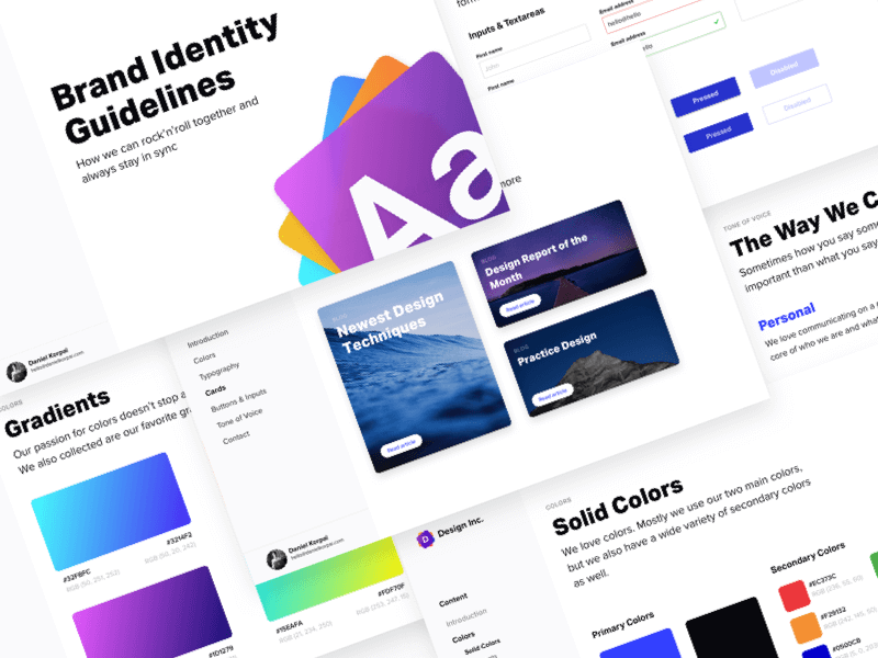 Brand Identity Guidelines 2.0 cover image