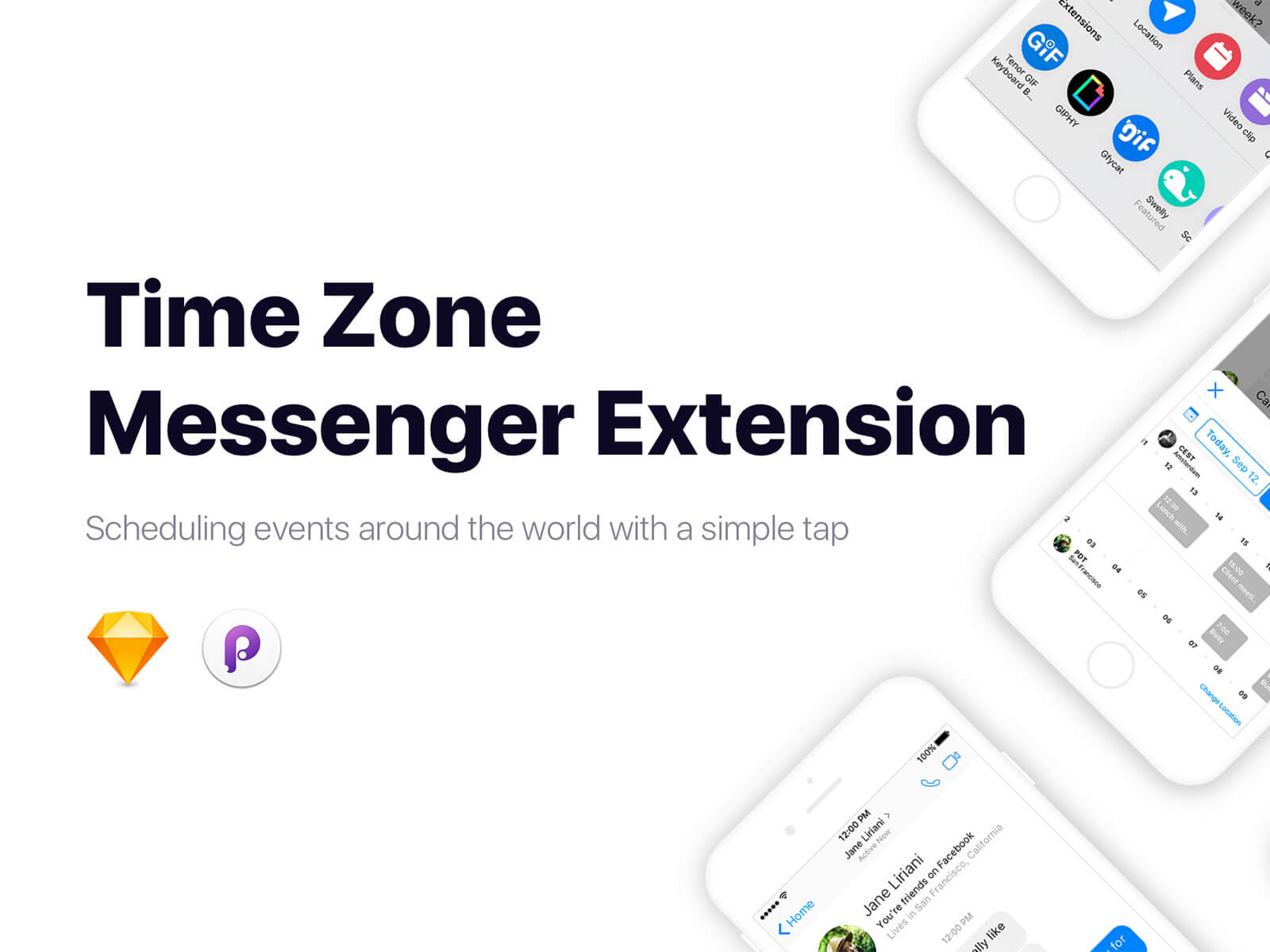 Time Zone Messenger Extension cover image