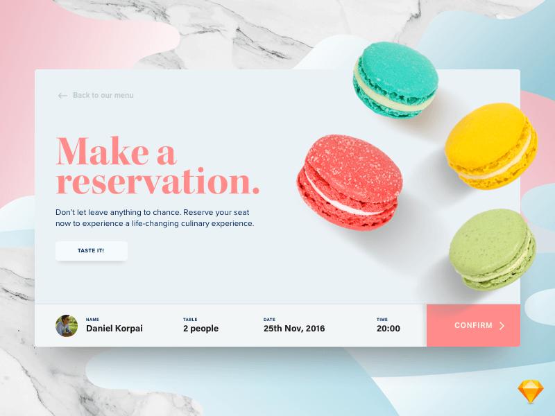 Restaurant Reservation Concept cover image