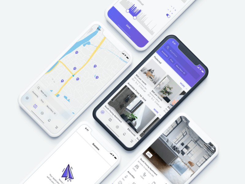 Homefeed - House rental App challenge cover image