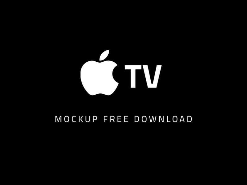 Apple TV Mockup cover image