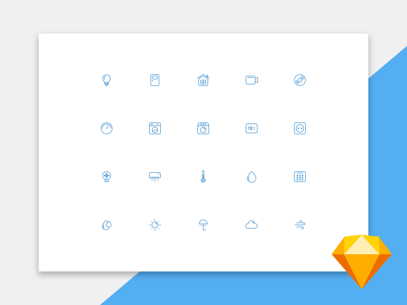 UI icons free download for Sketch cover image