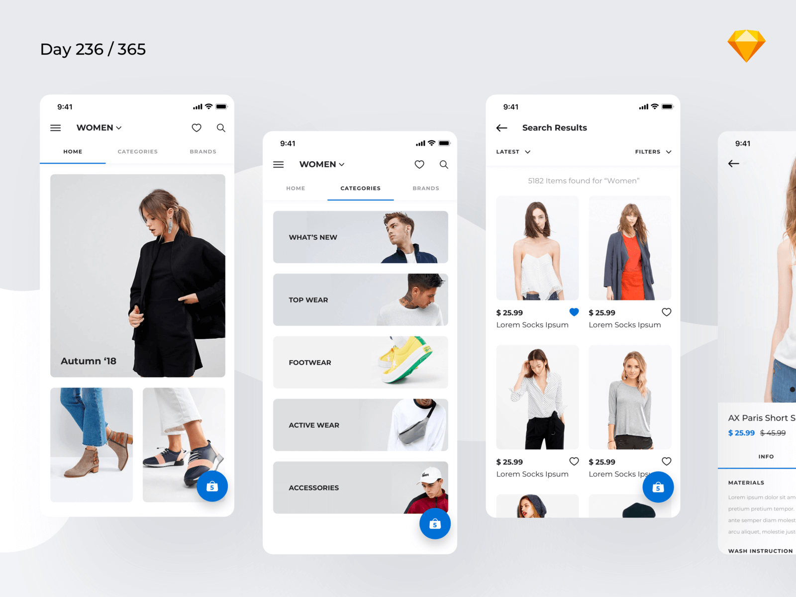 Minimal Fashion App | Day 236/365 - Project365 cover image