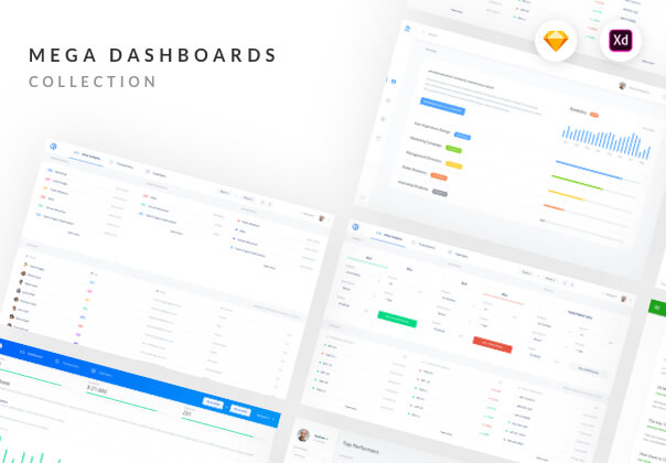 Mega Dashboards Taster Pack cover image