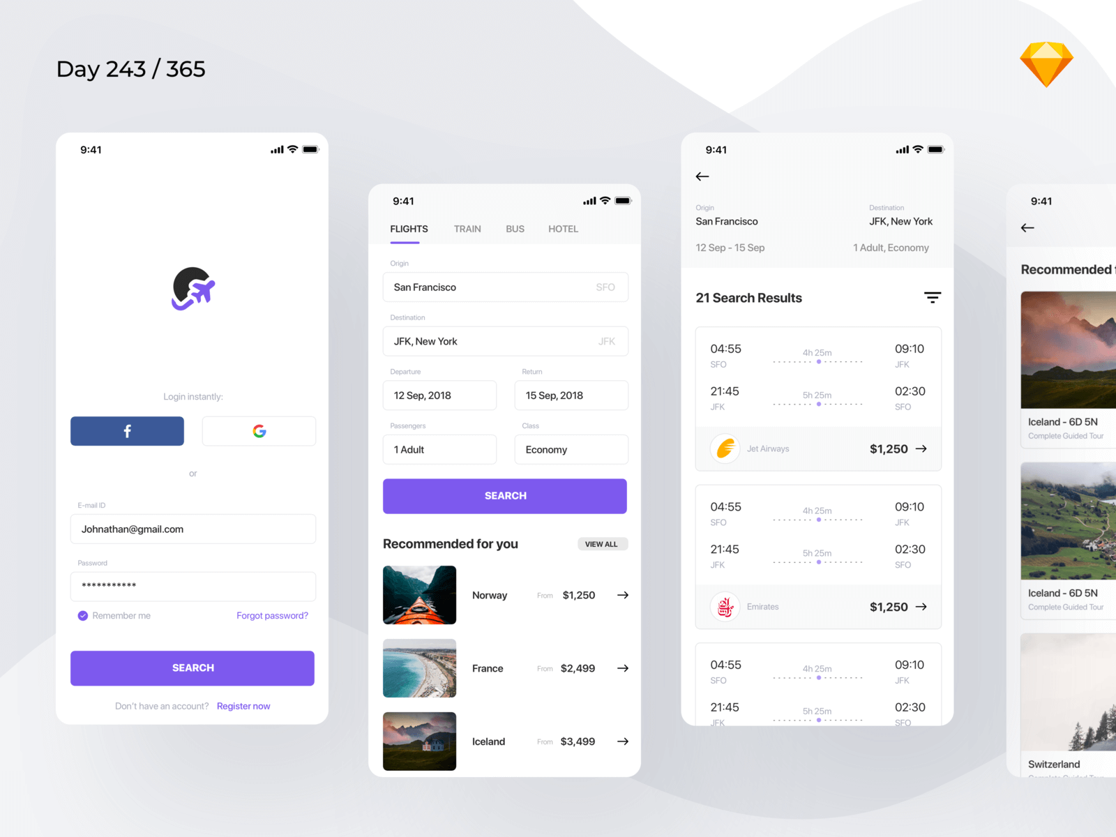Flight Booking App | Day 243/365 - Project365 cover image