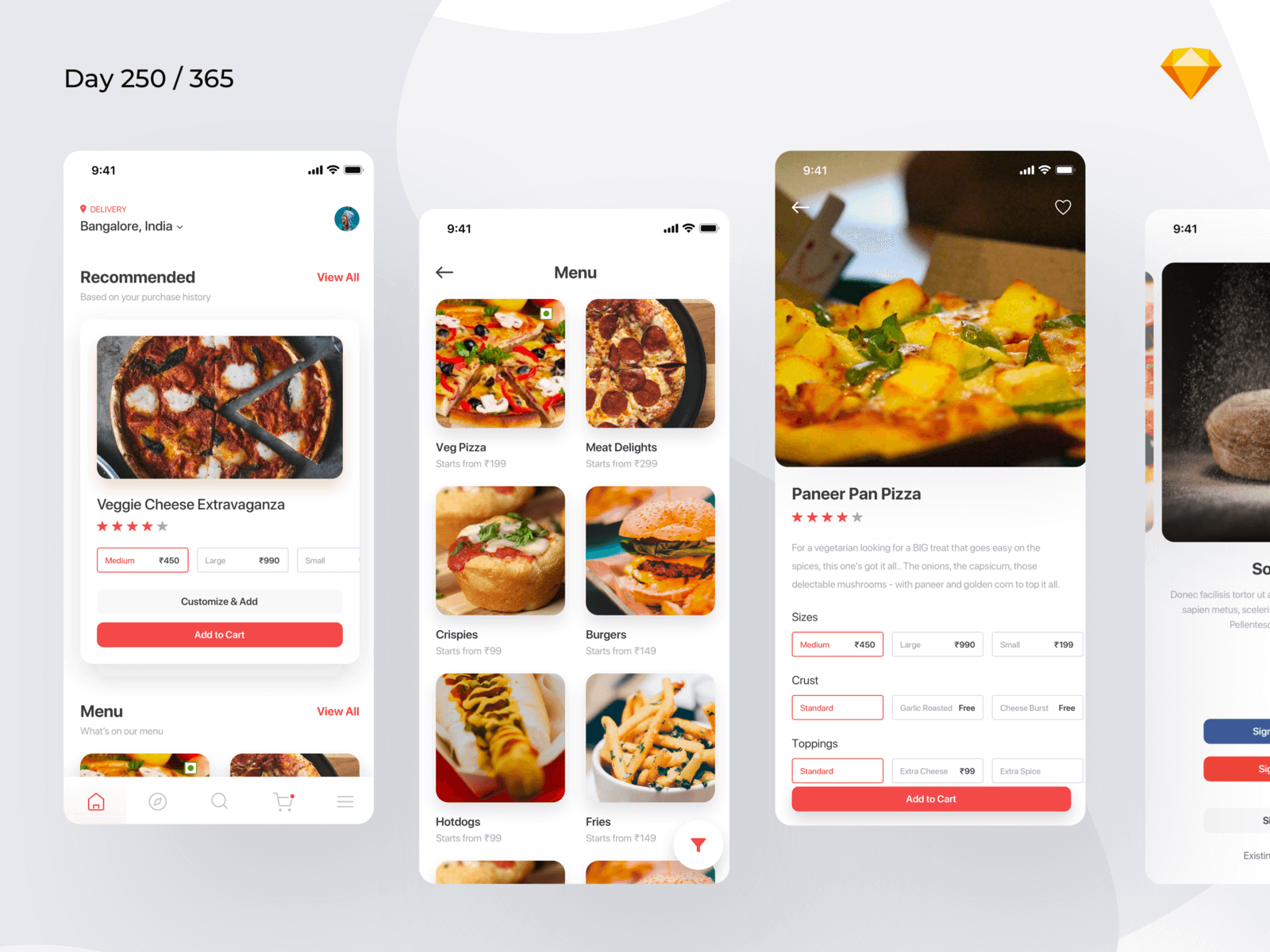Pizza Delivery/Ordering App | Day 250/365 - Project365 cover image