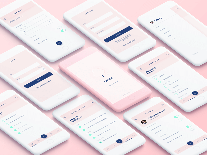 Free UI Kit - Candy cover image