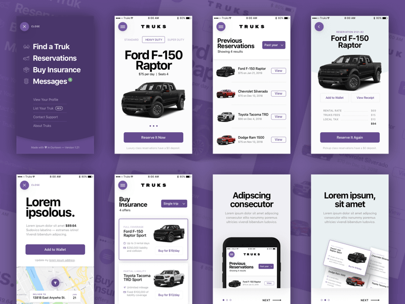 TRUKS UI Kit cover image