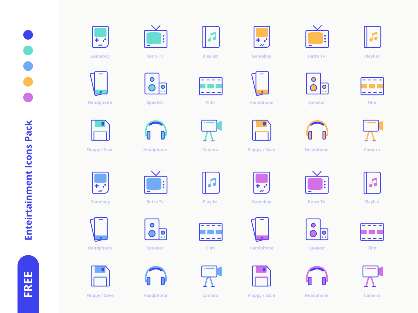 Freebies Icon Pack [Part 2] cover image