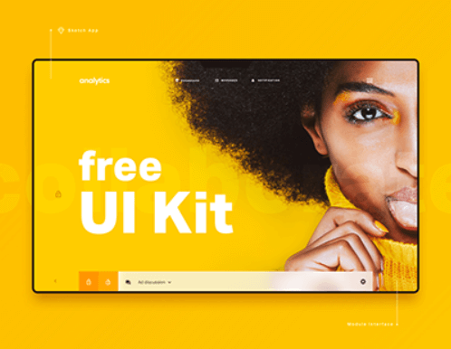 Analytics UI Kit by DtailStudio.com cover image