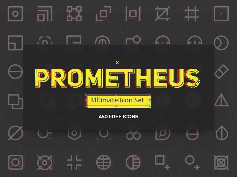 Prometheus Free Icon Set cover image