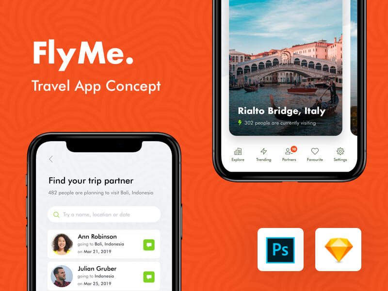 Travel App UI Kit cover image