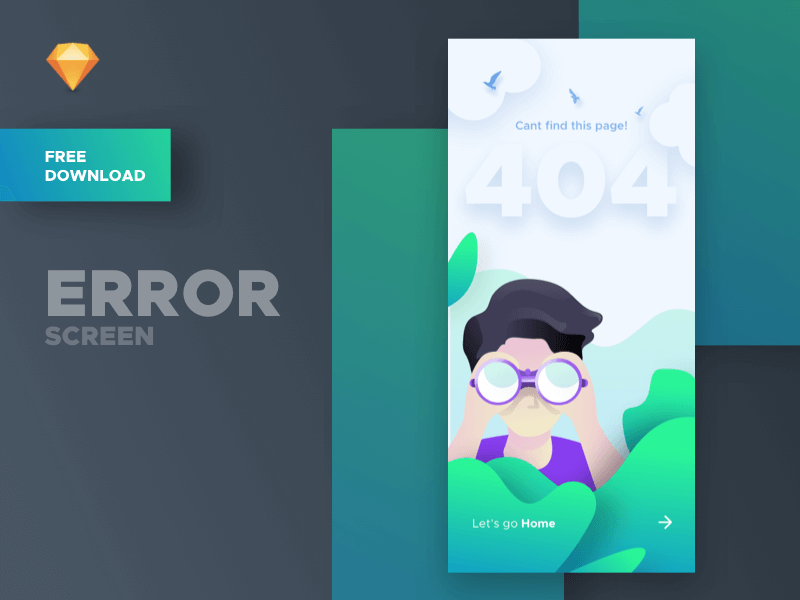 Error Screen - Free Download cover image