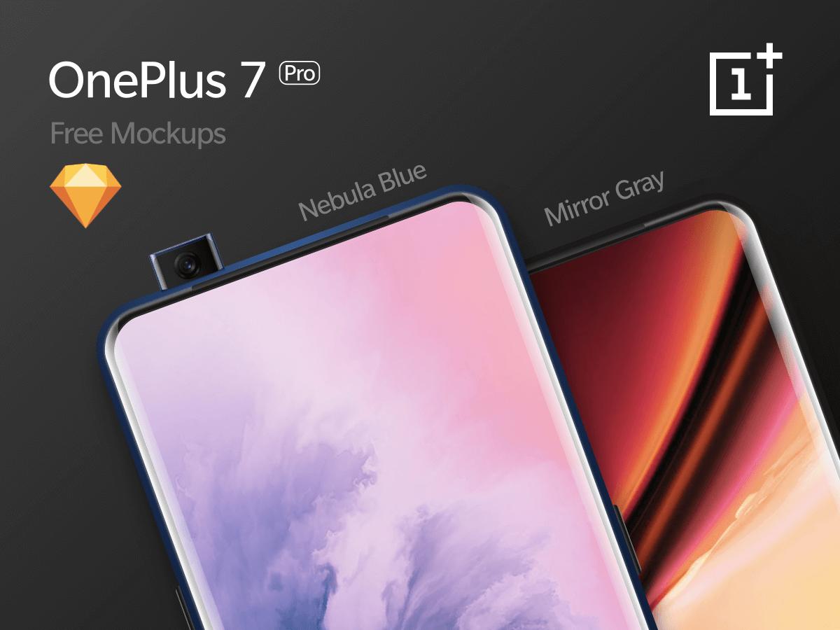 OnePlus 7 Pro - UHQ Mockups cover image