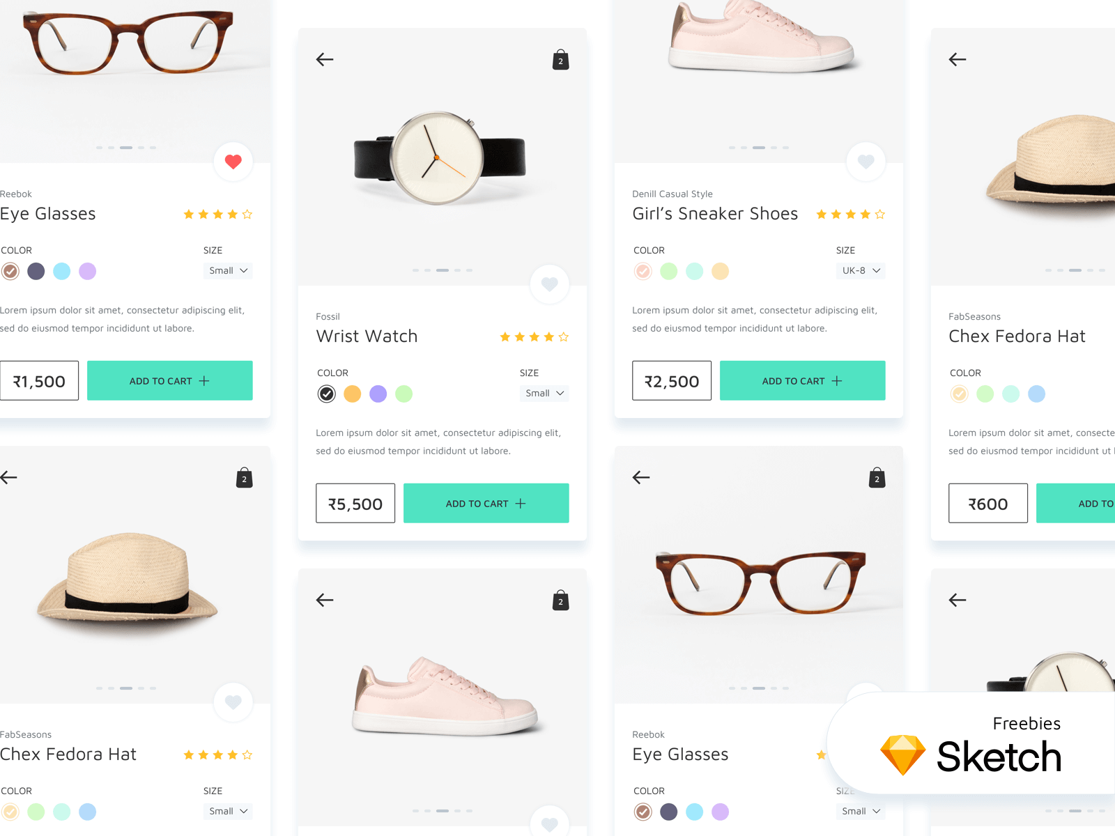eCommerce Mobile App - Product Screens cover image