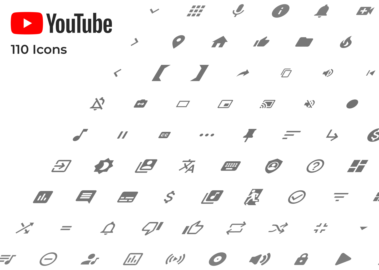 YouTube Icons cover image