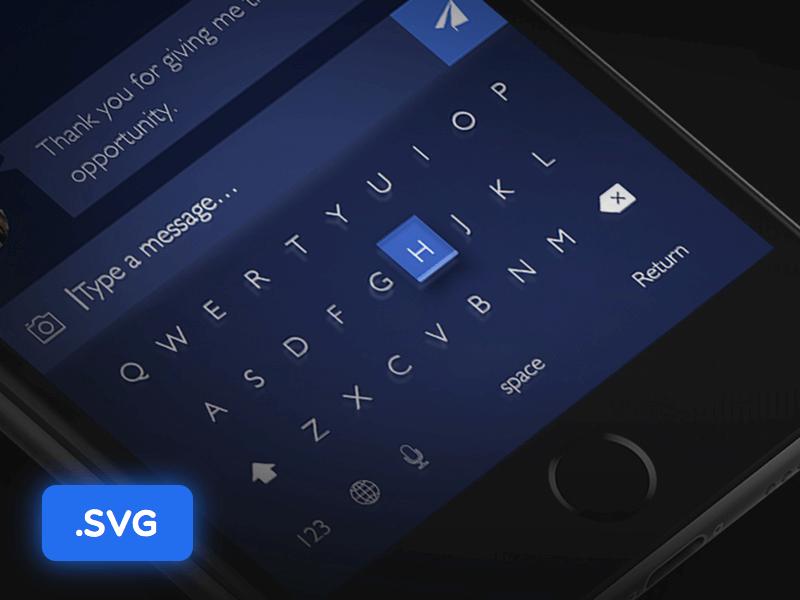 Keyboard Dark Tone UI cover image