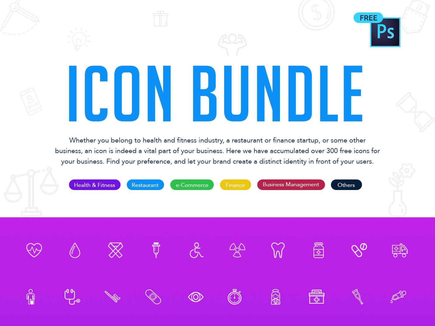 Line Icon Bundles cover image