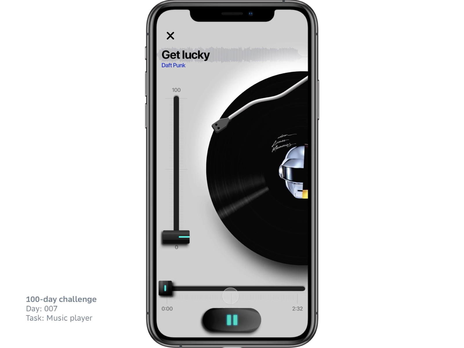007 - Music player cover image