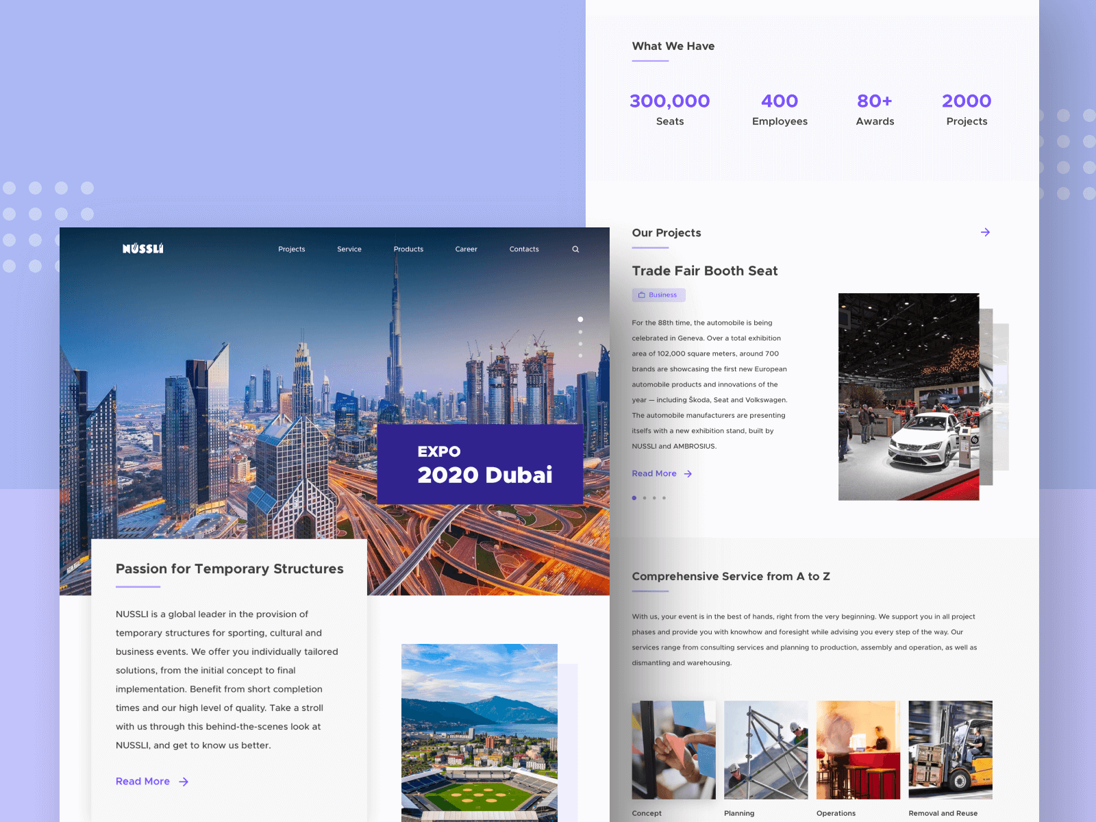 Construction Company Landing Page cover image