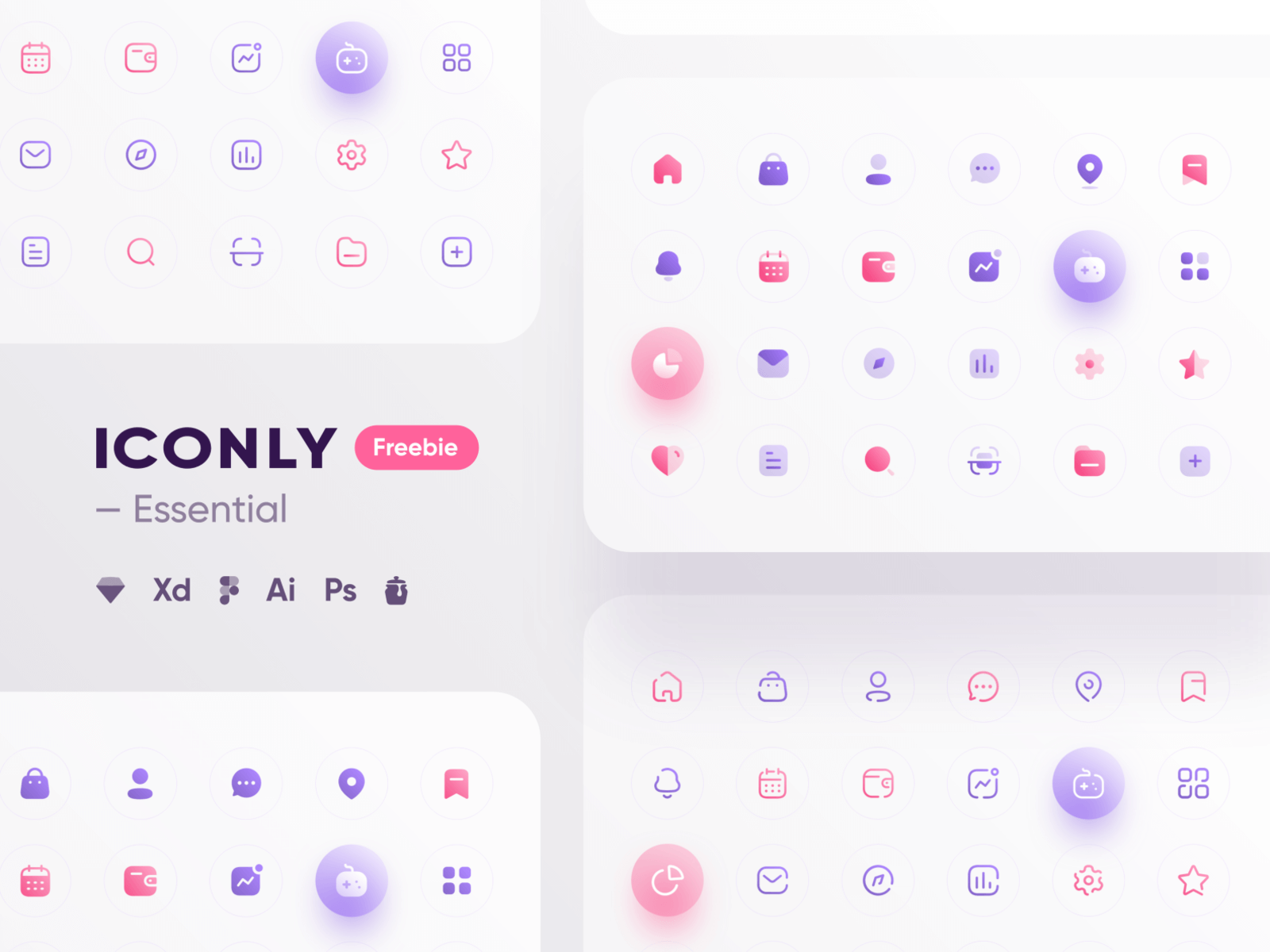 Iconly - Essential icons cover image
