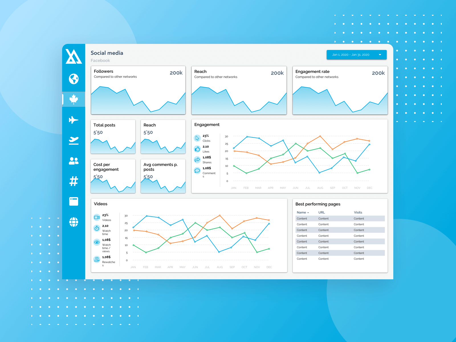 Data dashboard cover image