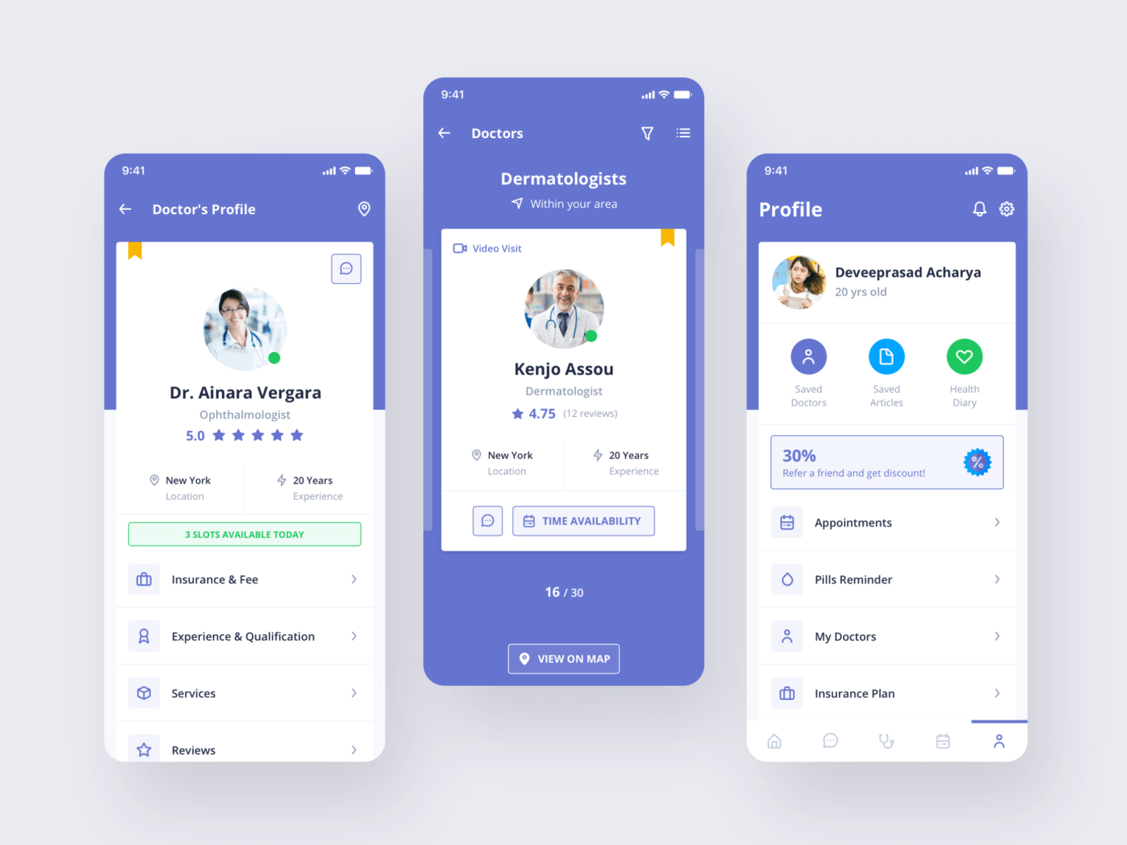 Digital Clinic UI Kit cover image