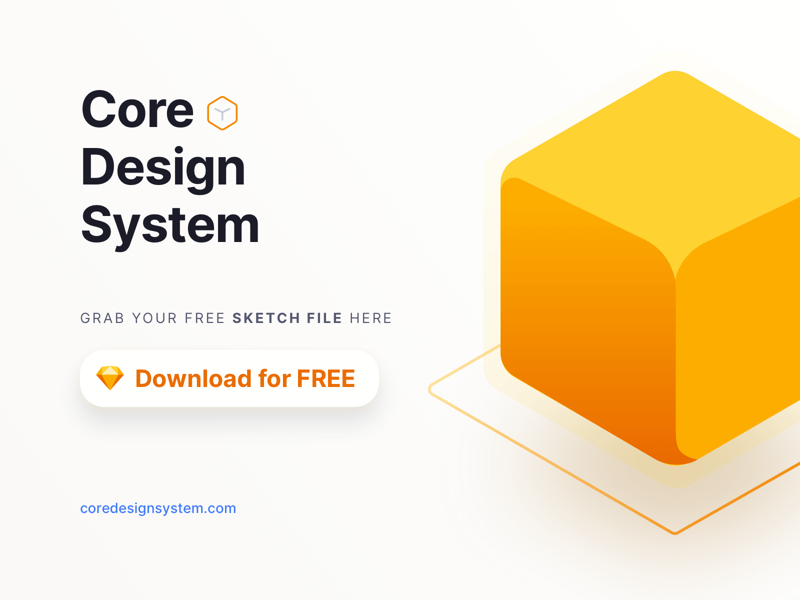 Core Design System - Sketch Free File cover image