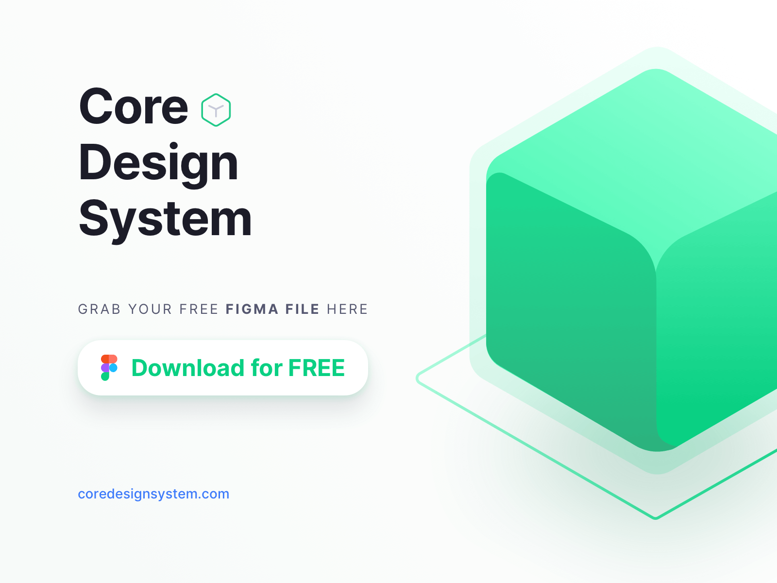 Core Design System - Free Figma File cover image