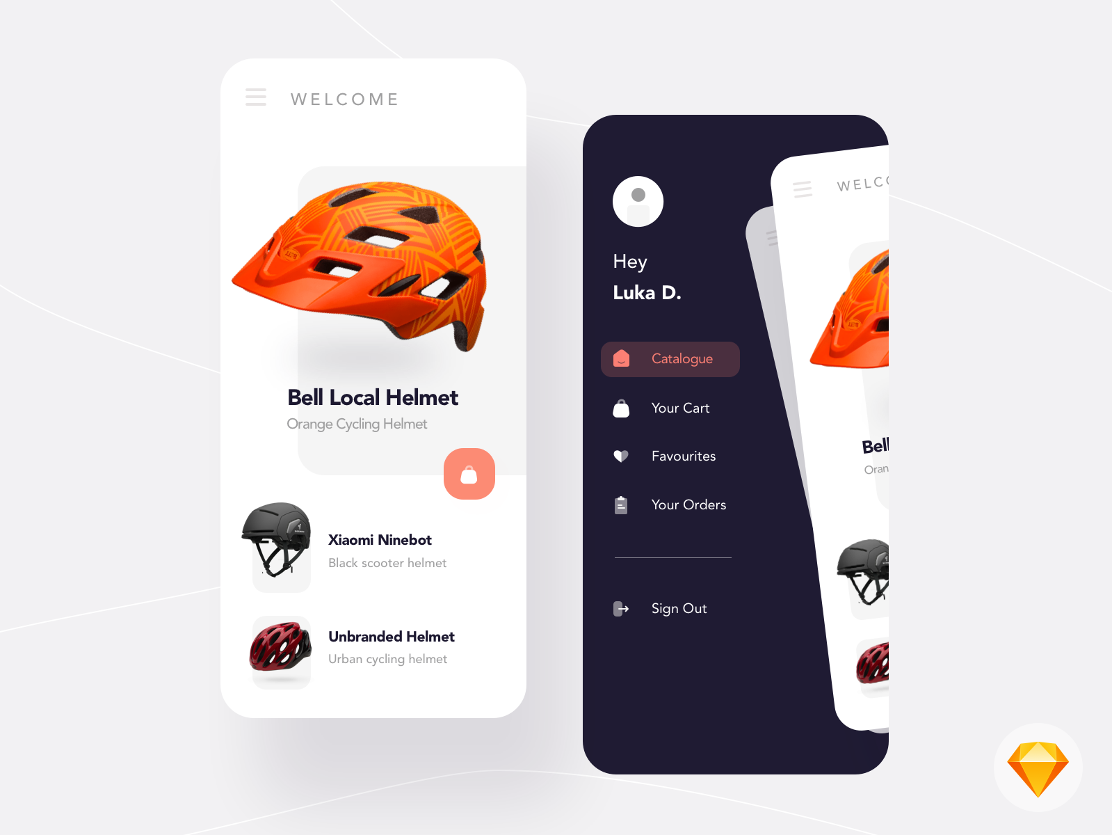 DAY 02 - Helmet Shopping App cover image